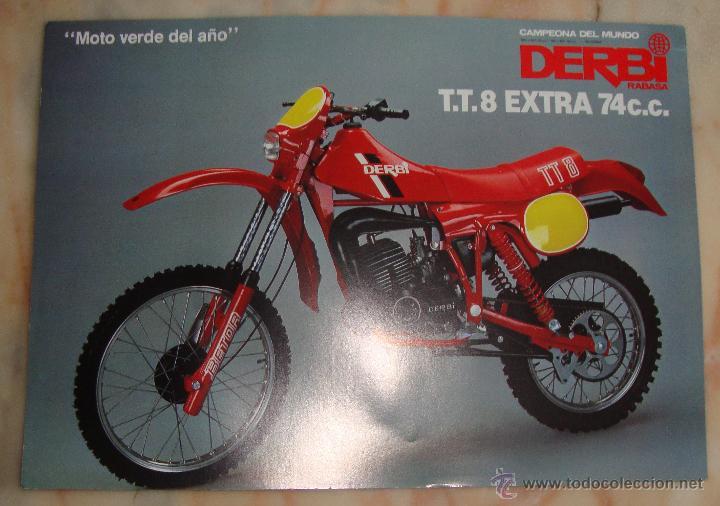 Hoja caracteristicas tecnicas original derbi tt comprar for Catalogo derbi