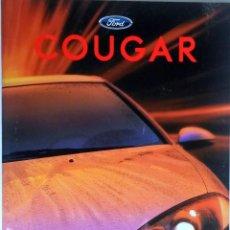 Coches y Motocicletas - CATALOGO PUBLICIDAD ORIGINAL FORD COUGAR. - 54623908
