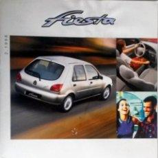 Coches y Motocicletas: CATALOGO PUBLICIDAD ORIGINAL FORD FIESTA. ABRIL 1998.. Lote 54624089