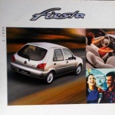 Coches y Motocicletas: CATALOGO PUBLICIDAD ORIGINAL FORD FIESTA. FEBRERO 1999.. Lote 54624100