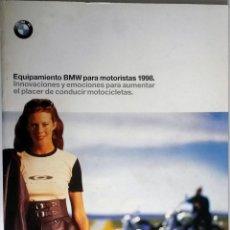 Coches y Motocicletas: CATALOGO PUBLICIDAD ORIGINAL EQUIPAMIENTO BMW PARA MOTORISTAS 1998.. Lote 54624518