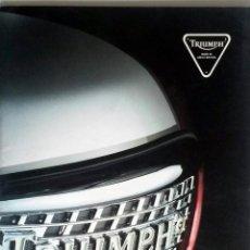 Coches y Motocicletas: CATALOGO PUBLICIDAD ORIGINAL TRIUMPH MOTORCYCLES - 1996.. Lote 54624625