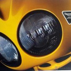 Coches y Motocicletas: CATALOGO PUBLICIDAD ORIGINAL TRIUMPH MOTORCYCLES - 1999.. Lote 54624727