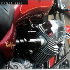Coches y Motocicletas: CATALOGO PUBLICIDAD ORIGINAL MOTO GUZZI CALIFORNIA 1100. . Lote 54625236