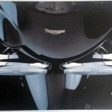 Coches y Motocicletas: CATALOGO PUBLICIDAD ORIGINAL TRIUMPH MOTORCYCLES. 1997.. Lote 54635392
