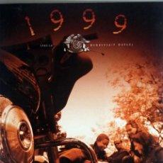 Coches y Motocicletas: CATALOGO ORIGINAL DE BIENVENIDA AL HARLEY OWNERS GROUP DE ESPAÑA. 1999.. Lote 54635569