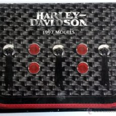Coches y Motocicletas: DOSSIER DE PRENSA HARLEY DAVIDSON 1997. CON DIAPOSITIVAS.. Lote 54636852
