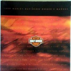 Coches y Motocicletas: MANUAL DEL PROPIETARIO HARLEY DAVIDSON 1999.. Lote 54637119