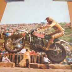 Coches y Motocicletas: CARTEL PUBLICITARIO PIRELLI MONTESA CAPPRA MIDE 65 X 45. Lote 54668006