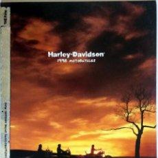 Coches y Motocicletas: CATÁLOGO HARLEY-DAVIDSON 1998. . Lote 54735434