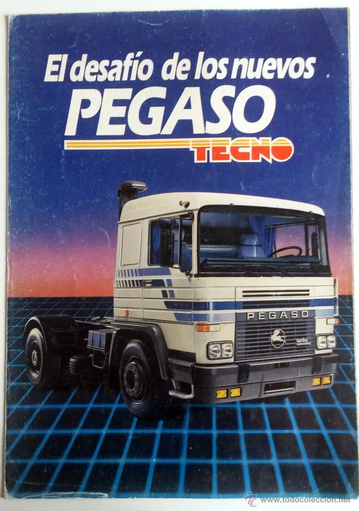 CATÁLOGO PEGASO TECNO. (Coches y Motocicletas Antiguas y Clásicas - Catálogos, Publicidad y Libros de mecánica)