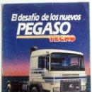 Coches y Motocicletas: CATÁLOGO PEGASO TECNO.. Lote 54767821