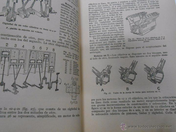 Coches y Motocicletas: MANUAL DE AUTOMOVILES. MANUEL ARIAS-PAZ. 17ª EDICION. 1951. EDIOTRIAL DOSSAT. TDK222 - Foto 3 - 54789856