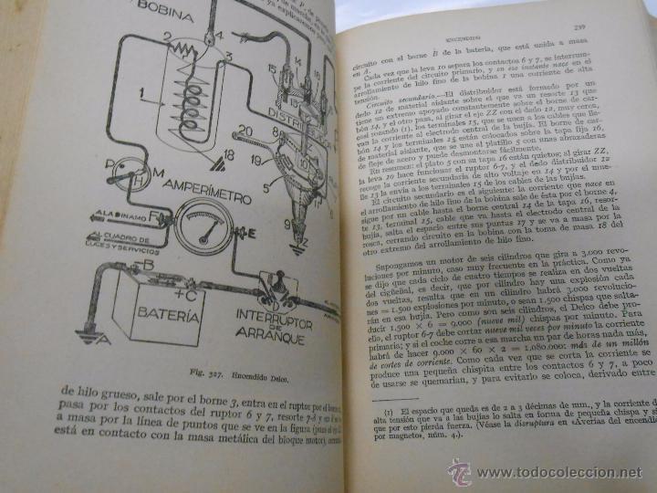 Coches y Motocicletas: MANUAL DE AUTOMOVILES. MANUEL ARIAS-PAZ. 17ª EDICION. 1951. EDIOTRIAL DOSSAT. TDK222 - Foto 4 - 54789856