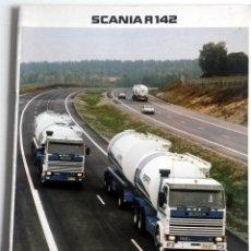 Coches y Motocicletas: CATÁLOGO SCANIA R142.. Lote 54798807