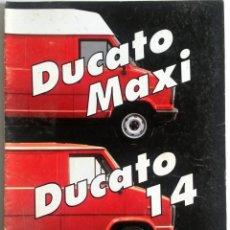 Coches y Motocicletas: CATÁLOGO FIAT DUCATO MAXI / DUCATO 14.. Lote 54798968