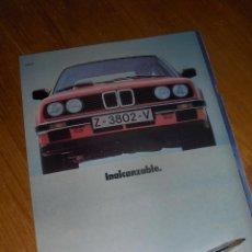 Coches y Motocicletas: BMW NUEVA SERIE 3, INALCANZABLE. DIPTICO PUBLICITARIO.. Lote 54855066