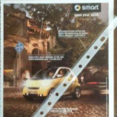 Coches y Motocicletas: PUBLICIDAD AUTOMOVIL SMART . Lote 54859076