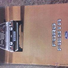 Coches y Motocicletas: CATÁLOGO FORD FIESTA (MODELOS L, S, GHIA, XR-2) AÑO 1982. Lote 153453881