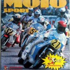 Coches y Motocicletas: ALBUM COMPLETO MOTO SPORT. 1980.. Lote 54879151