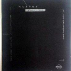 Coches y Motocicletas: CATÁLOGO PUBLICITARIO NISSAN - MODELOS 1998.. Lote 54879788
