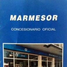 Coches y Motocicletas: CATÁLOGO CHRYSLER Y JEEP - MARMESOR CONCESIONARIO OFICIAL.. Lote 54883318