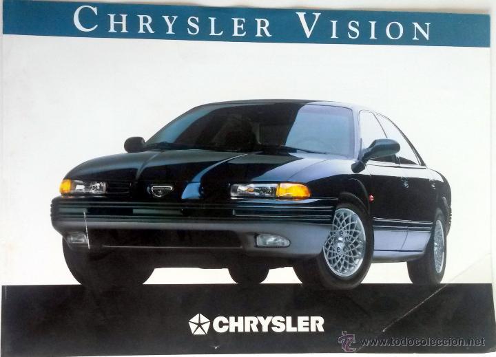 CATÁLOGO CHRYSLER VISION - ESPECIFICACIONES TÉCNICAS. (Coches y Motocicletas Antiguas y Clásicas - Catálogos, Publicidad y Libros de mecánica)