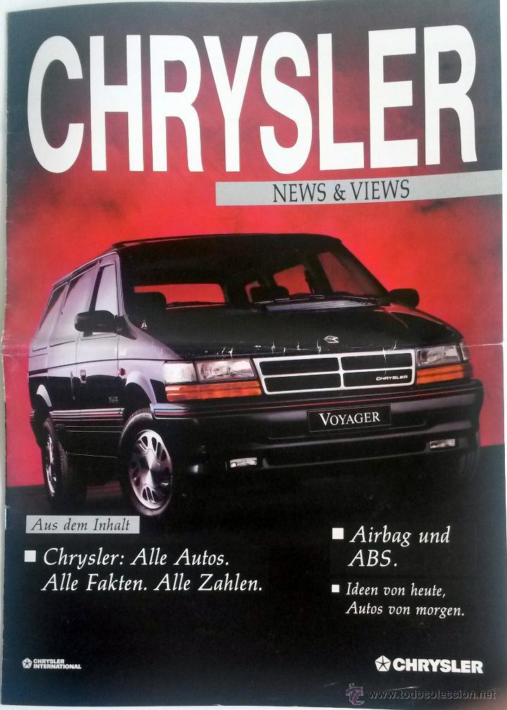 PUBLICACIÓN OFICIAL CHRYSLER NEWS & VIEWS. (Coches y Motocicletas Antiguas y Clásicas - Catálogos, Publicidad y Libros de mecánica)
