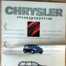 Coches y Motocicletas - PUBLICACIÓN OFICIAL CHRYSLER MAGAZINE. - 54884257