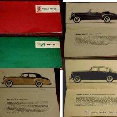 Coches y Motocicletas: CATALOGO DE COCHES ROLLS ROYCE Y BENTLEY, AÑO 1931, TIENE 32 PAG. EN TOTAL, CON MUCHISIMAS ILUSTRACI. Lote 195362375