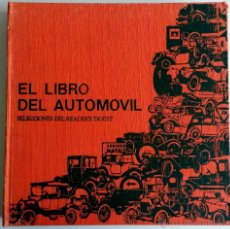 Coches y Motocicletas: LIBRO EL LIBRO DEL AUTOMÓVIL.. Lote 54942130