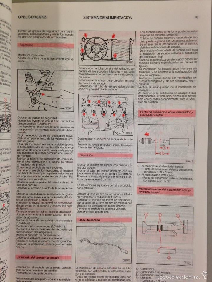 Coches y Motocicletas: OPEL CORSA 93 Manual de Taller - Foto 4 - 54963986