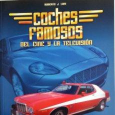 Coches y Motocicletas: LIBRO COCHES FAMOSOS DEL CINE Y LA TELEVISIÓN.. Lote 54972107