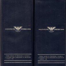 Coches y Motocicletas: CURSO TÉCNICO DE AUTOMÓVILES. COMPLETO. 53 LIBROS + GUÍA, EXÁMENES... INSTITUTO AMERICANO, 1974. Lote 54980070