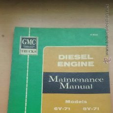 Coches y Motocicletas: CAMIONES GMC GENERAL MOTORS, MANUAL DE TALLER. Lote 54994277