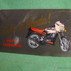 Coches y Motocicletas: ESCASA PEGATINA HONDA MBX 75 RARO ADHESIVO ORIGINAL 1984 COLECCION MOTOCICLISMO VINTAGE. Lote 161743013