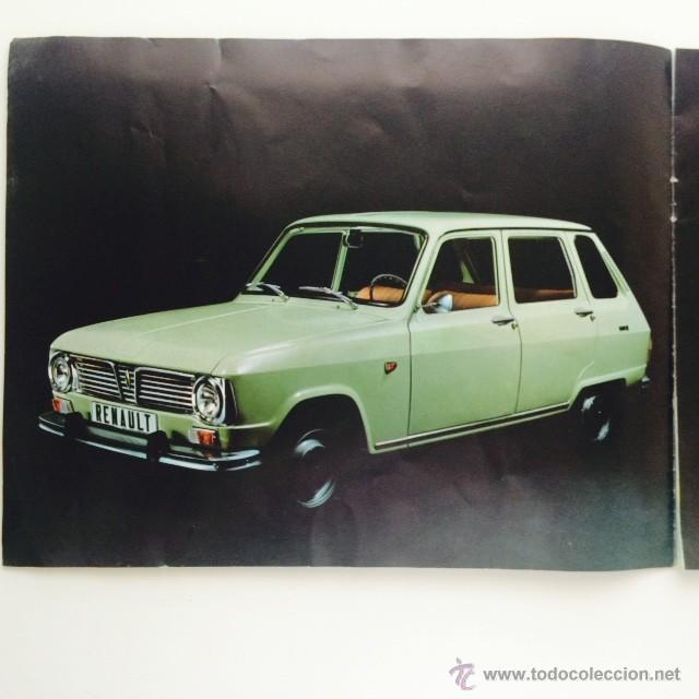 Coches y Motocicletas: Catalogo original Renault 6. Folleto Renault 6 - Foto 4 - 55025046