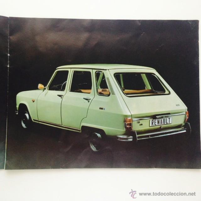 Coches y Motocicletas: Catalogo original Renault 6. Folleto Renault 6 - Foto 5 - 55025046