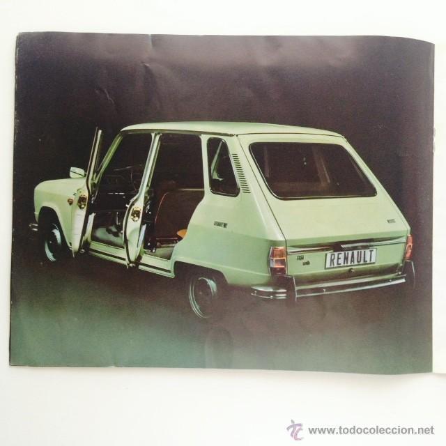 Coches y Motocicletas: Catalogo original Renault 6. Folleto Renault 6 - Foto 6 - 55025046