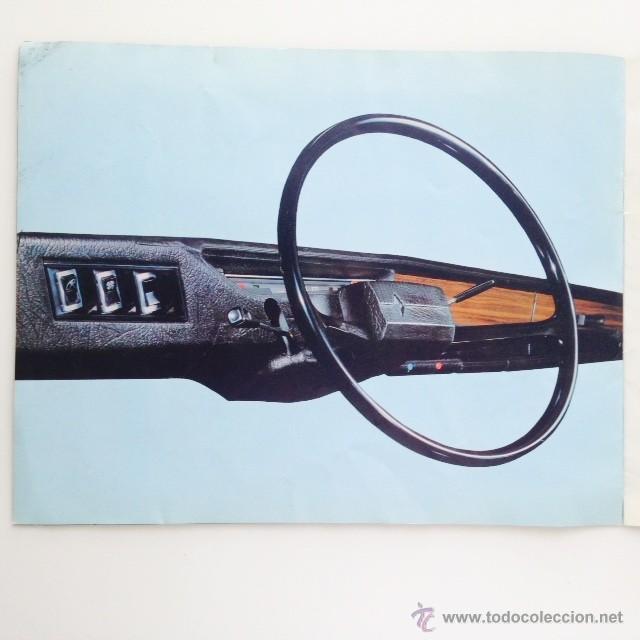 Coches y Motocicletas: Catalogo original Renault 6. Folleto Renault 6 - Foto 8 - 55025046