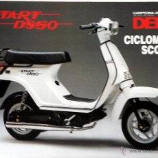 Coches y Motocicletas: CATÀLOGO ORIGINAL DERBI START DS 50.. Lote 55092999
