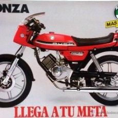 Coches y Motocicletas: CATÀLOGO ORIGINAL PUCH MONZA. . Lote 55093114