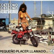 Coches y Motocicletas: CATÀLOGO ORIGINAL MECATECNO CHIC. . Lote 55093604