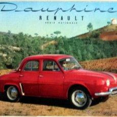 Coches y Motocicletas: CATÀLOGO ORIGINAL RENAULT DAUPHINE.. Lote 55094627