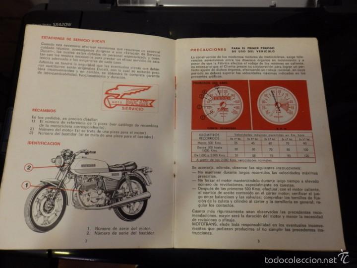 Coches y Motocicletas: MANUAL DE DUCATI TWIN 500 MANUAL PARA EL USO - Foto 2 - 113476554