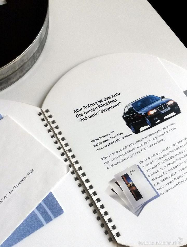 Coches y Motocicletas: DOSSIER DE PRENSA BMW 318ti COMPACT. PRESENTADO EN UNA CAJA METÁLICA. 1994. - Foto 2 - 55171241