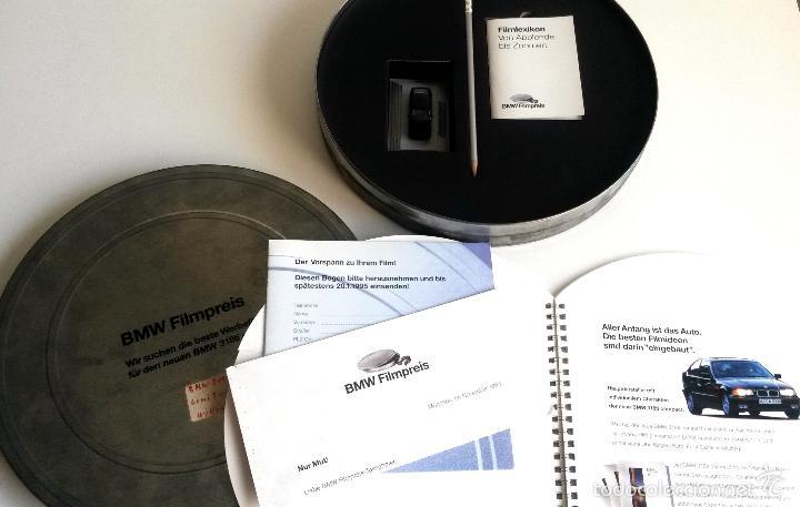 Coches y Motocicletas: DOSSIER DE PRENSA BMW 318ti COMPACT. PRESENTADO EN UNA CAJA METÁLICA. 1994. - Foto 4 - 55171241