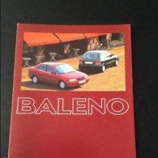 Coches y Motocicletas: FOLLETO CATALOGO PUBLICIDAD ORIGINAL SUZUKI BALENO . Lote 55334848