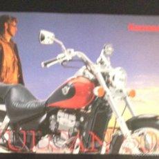 Coches y Motocicletas: FOLLETO CATALOGO PUBLICIDAD ORIGINAL KAWASAKI VULCAN 500 DE 1998. Lote 55334907