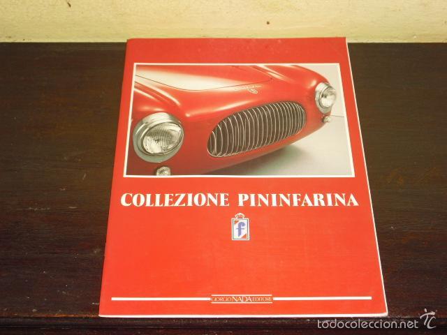 CATALOGO COLLEZIONE PININFARINA - 1989 - (Coches y Motocicletas Antiguas y Clásicas - Catálogos, Publicidad y Libros de mecánica)